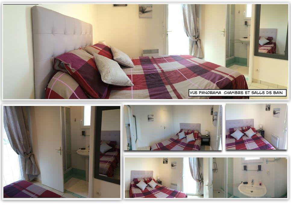 A 2 minutes du centre de Dol de Bretagne, dans un quartier calme, un appartement meublé type T2 entièrement rénové , situé au sein d'une propriété privée clos de palissades . ce petit nid douillet pourra être le départ de vos destinations de visites ... i