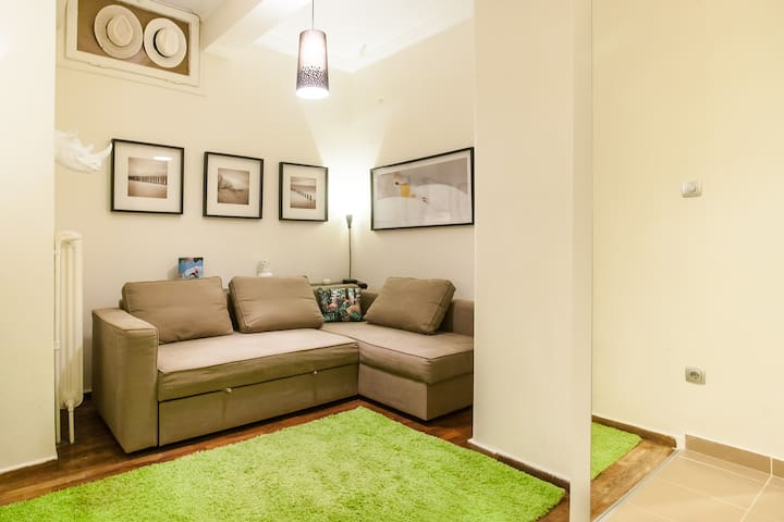 a cosy studio at Acropolis - Athene - Appartement