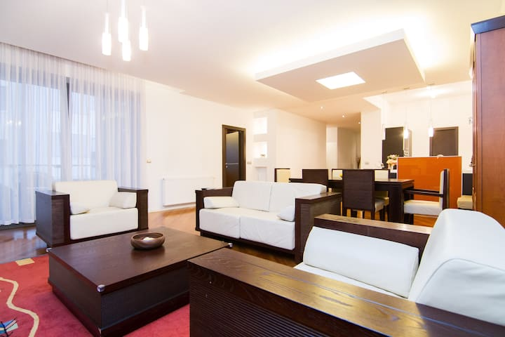 Zagreb Deluxe 3BD 4* 1KD / parking