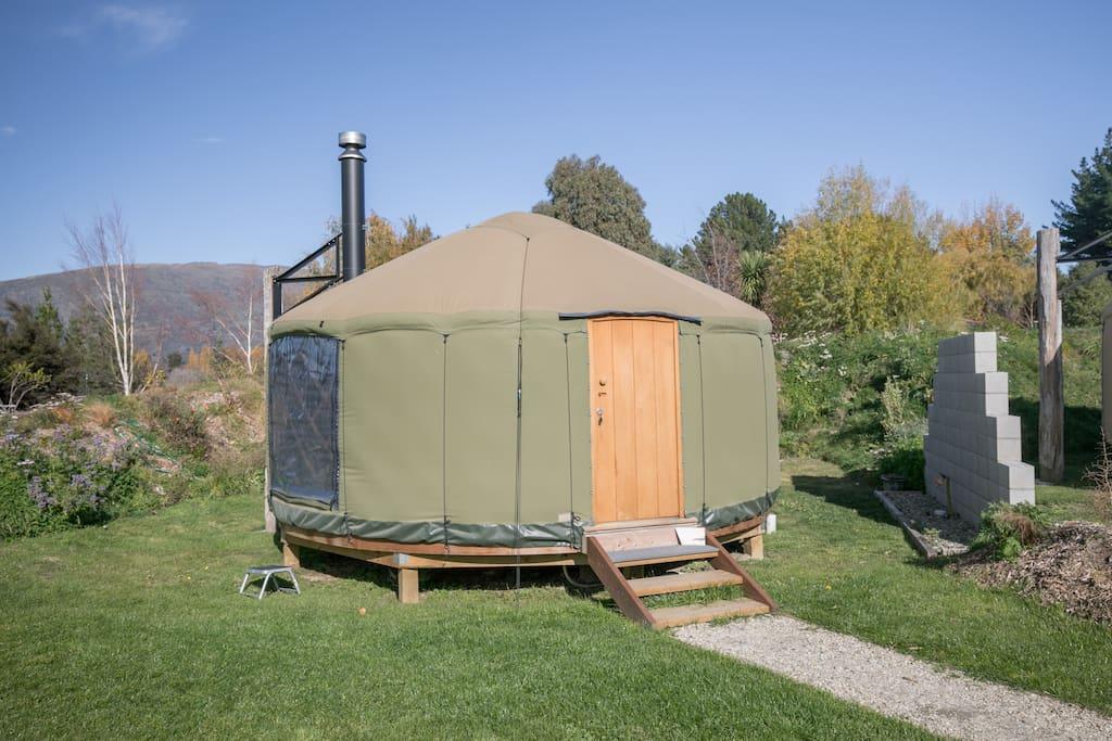 5 metre yurts