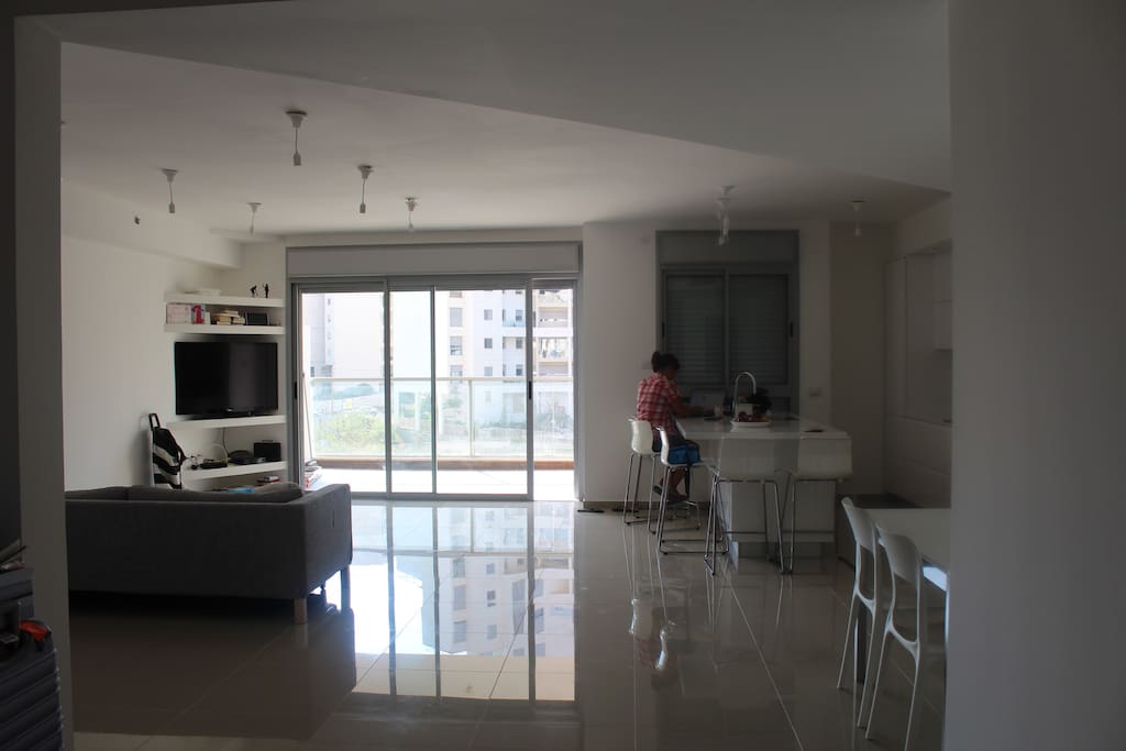 View of Living Room and Terrace