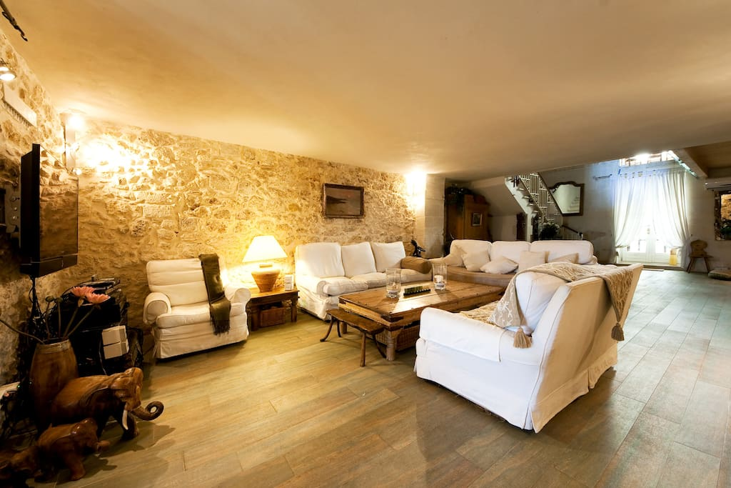 Ancient house made of ancient stones: Sassi