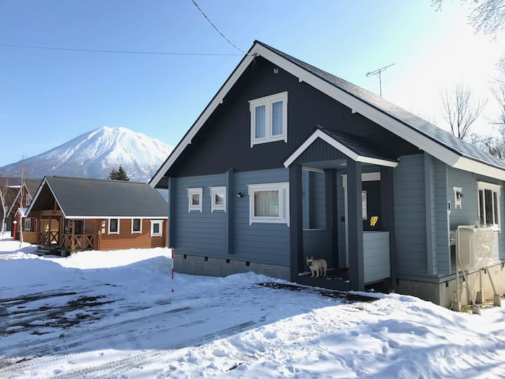 Marlo - 3Bdr log house close to Hirafu ski resort