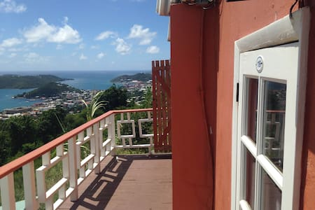 Tiny Room at Boutique Hotel - Charlotte Amalie