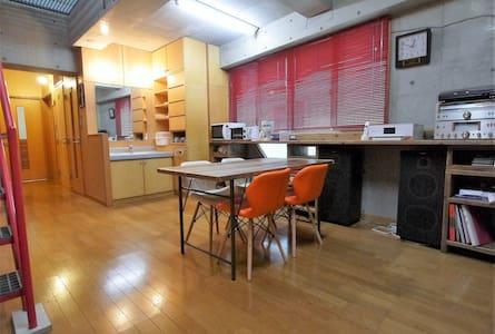 トライアングル22(Room2):ゲスト+ホスト+ハウス Enjoy Hiroshima!