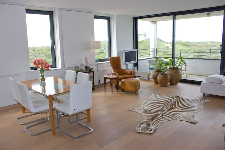 LUXURIOUS APPARTM OCEAN VIEW+GARAGE - Hook of Holland - Apartament