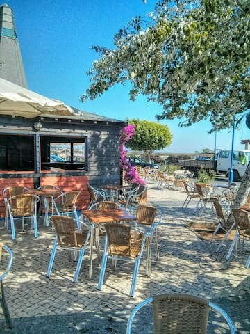 One of our local Fuseta cafe/bars near the water