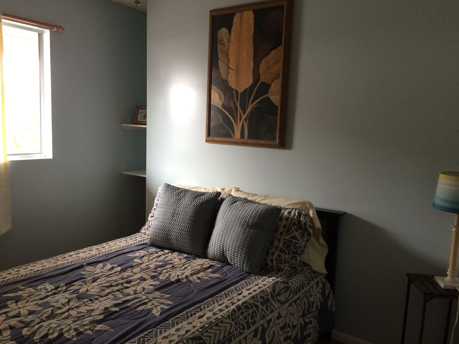 Comfortable and peaceful spacious room