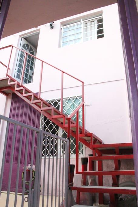 Escaleras independientes
