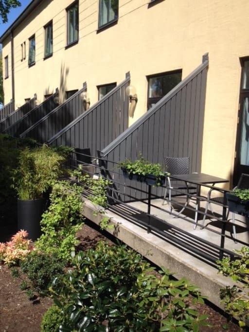 Hundrum med balkong
