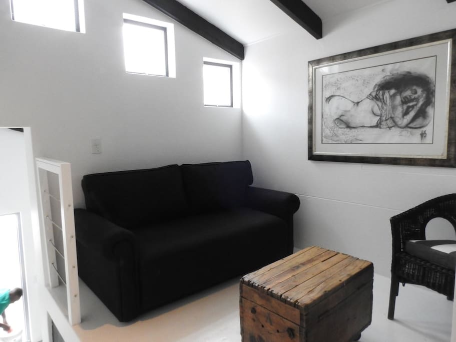 Small Lounge with 2 seater and chair