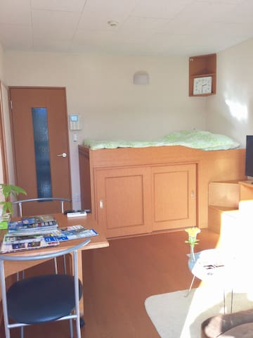 Just 5min from Station/Fuji view! - kawaguchiko - Wohnung