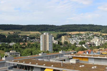 Möblierte 1.5 Zimmer Wohnung mit schöner Aussicht - Baden - Wohnung