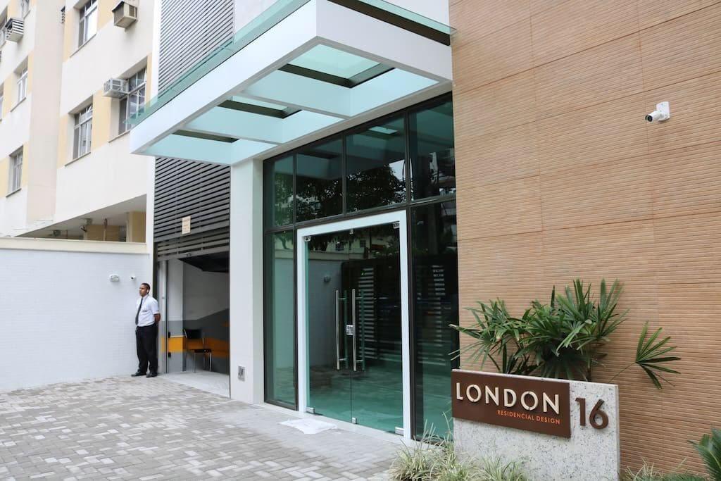 Entrada do Edifício