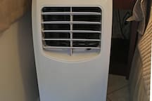Bedroom has an Air Conditioner for your comfort.