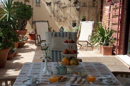 La Biblioteca con salida privada a la terraza - València - Bed & Breakfast