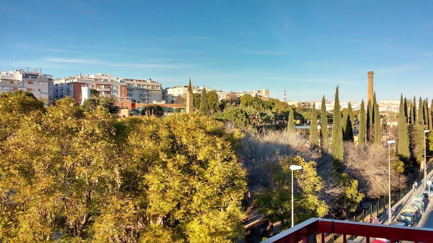 Apartamento con magnifica terraza en pleno centro