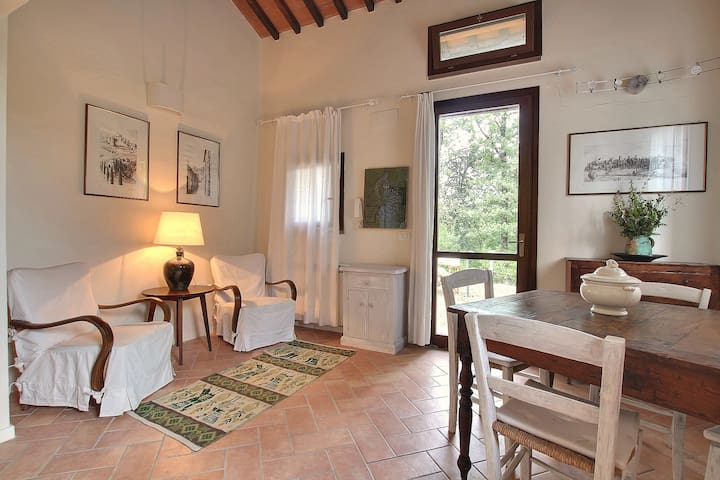 Gelsomino Cottage  near Firenze,San Gimignano,Sien - Il Castagno - Hus