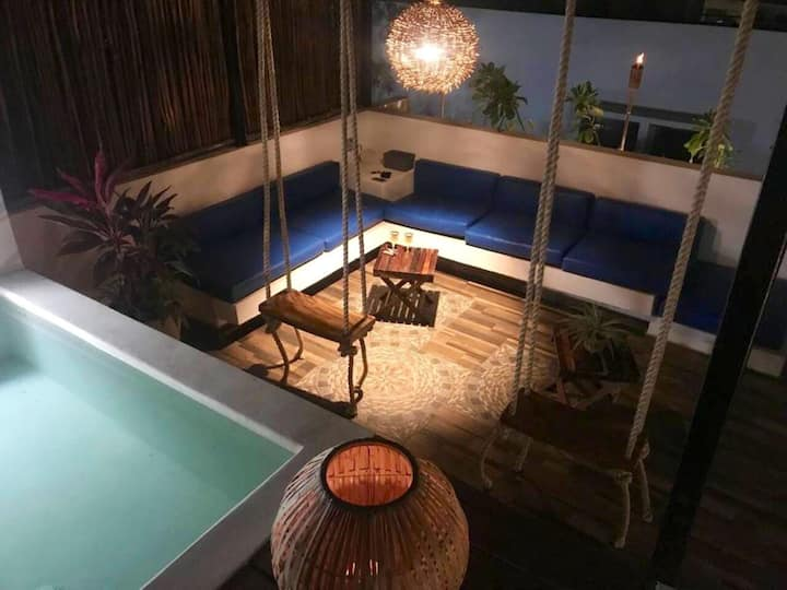 Magic place, private rooftop, plunge pool, grill