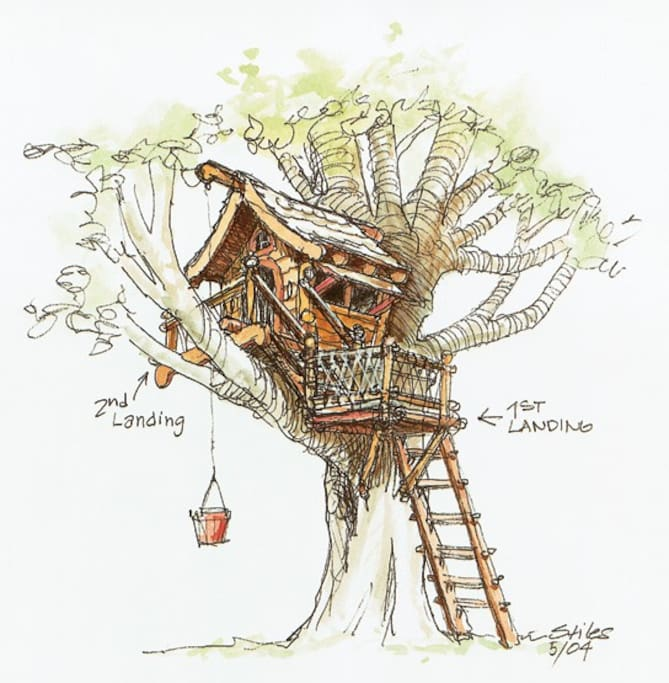 Our treehouse...