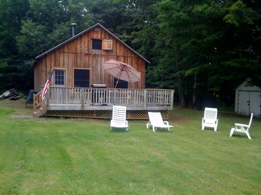 front of cabin 2