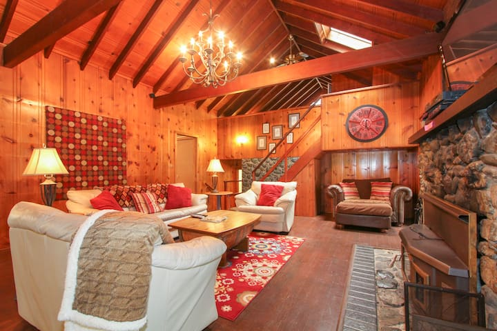 Hilltop Haven-Private/Spa/Fireplace - Cazadero - Casa