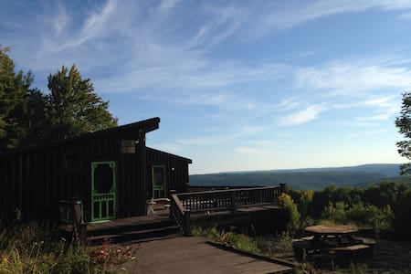 Tranquil Mountain-view Retreat - Stamford - Hus