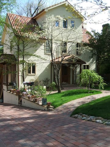 A gem in the heart of chevy chase maisons louer - Maison ecologique maryland chavy chase ...