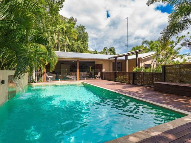 Tropical Tranquillity near Noosa with pool - Tewantin