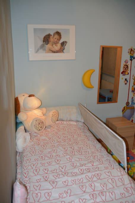 Dormitorio individual, ideal para niños