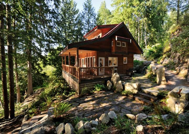 Waterfront West Coast Cabin