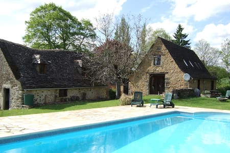 Secluded rural hideaway with pool - Cahus - Talo