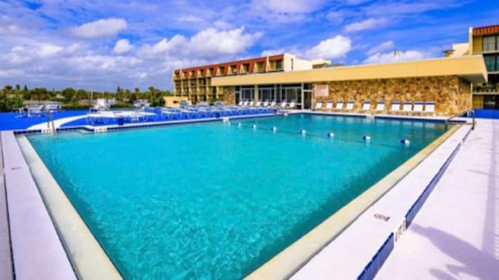 Pool and Racquetball Club Extended Stay Condo