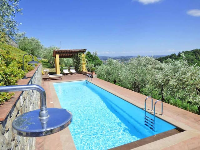 Emaa1 | Pool and view close to Lucca. Terrace. - Lucca - Apartment