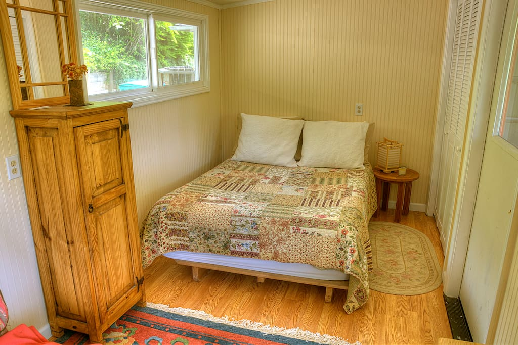 Here's the cottage room, perfect for two.