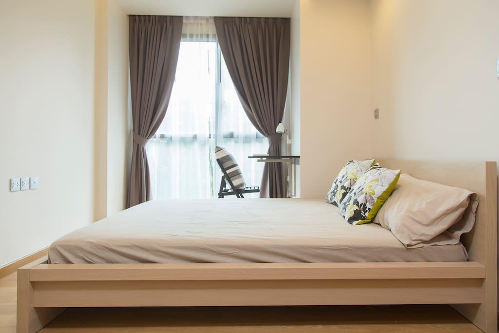 5-feet bed