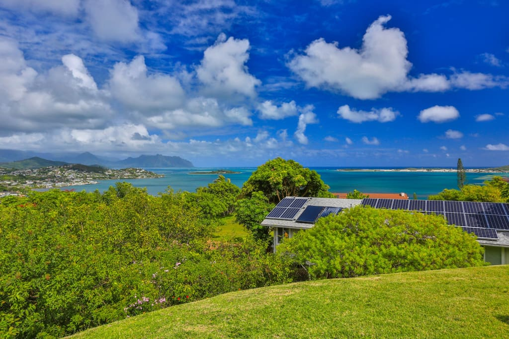 180 degree views of Kaneohe Bay