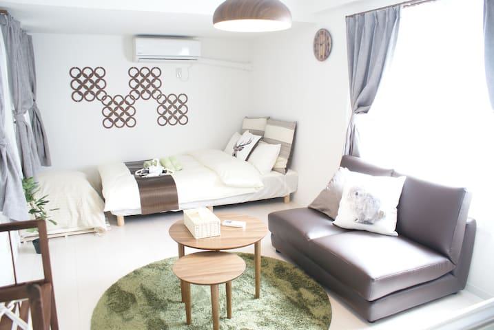 Cozy Room for 2-4PAX at side of Shopping street
