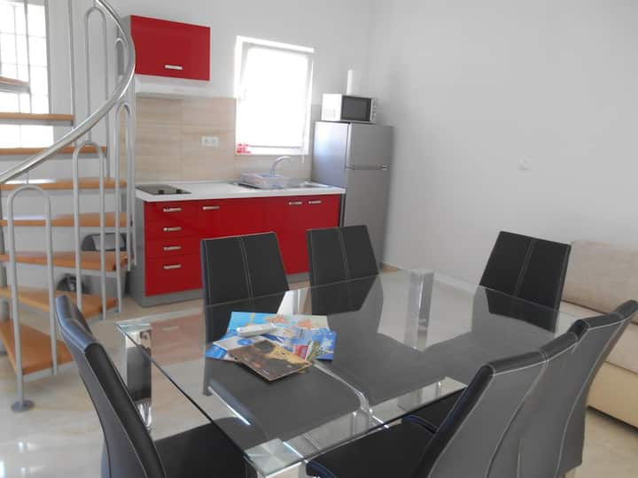Two bedroom apartment near beach Nin, Zadar (A-13172-c)