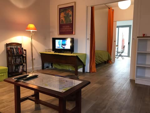 Brand new flat 10 mn from Paris