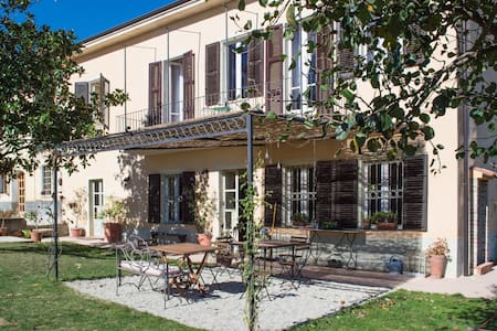 Vicentini im Monferrato - blaue - Alfiano Natta - Bed & Breakfast