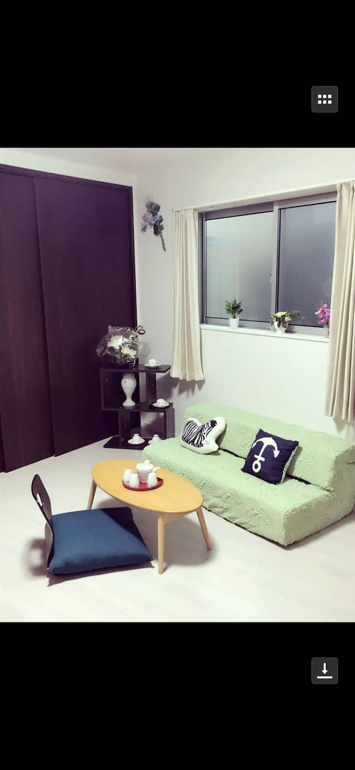 新築优雅小屋,板桥车站1分钟,直达池袋新宿渋谷,免费Wi-Fi,独立套房エスポワール  サクラダ