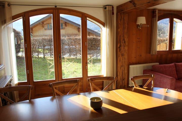 Sallanches, magnifique appart. de 90 m2 plein sud