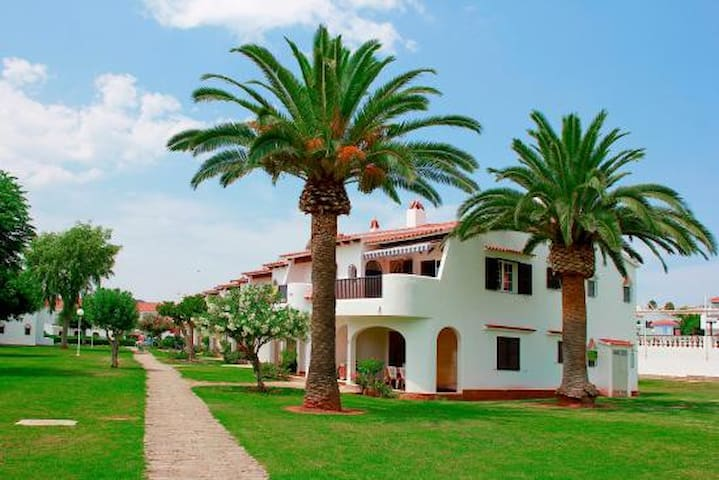 bungalow/apartamento cerca de la playa Soun bou