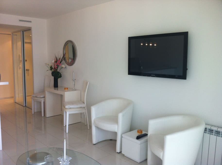 salon - écran plasma 127cm