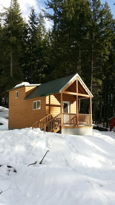 Awd Tiny House Cabins For Rent In Leavenworth
