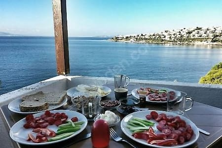 Turgutreis Akcabuk Tatil Koyu 3 Bolum Daire - Akyarlar Köyü - Apartamento
