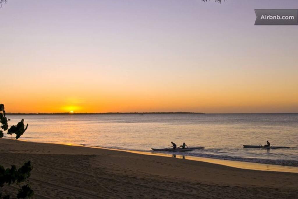 Sunset at Hervey Bay