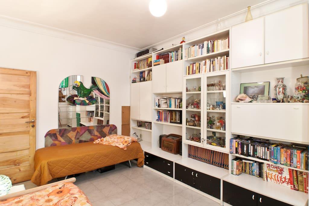 La stanza può ospitare 1 o 2 persone comodamente