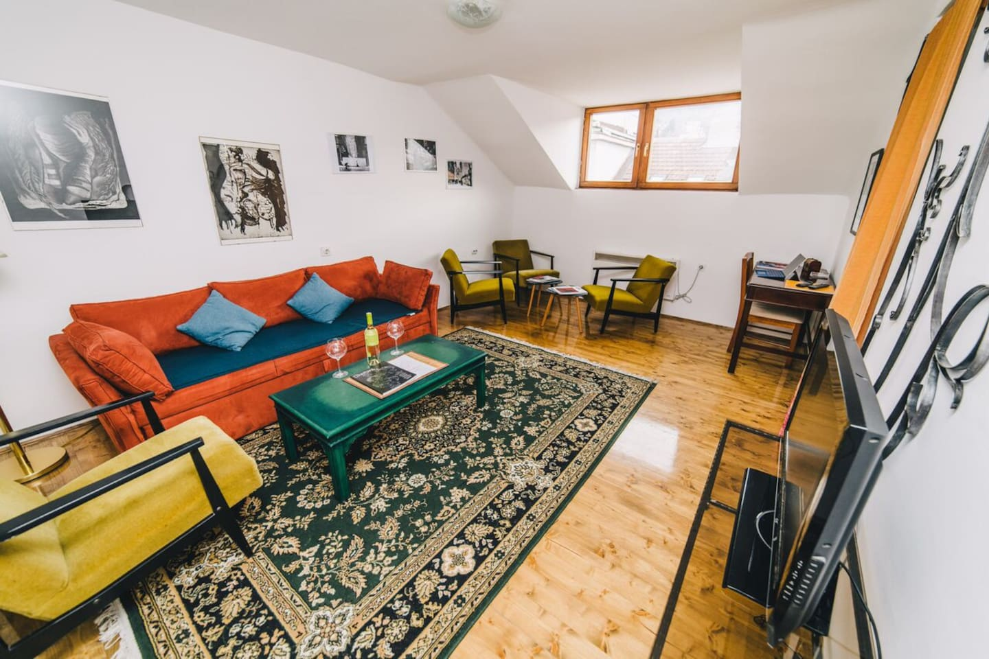 Local materials and attention to details are guarantee for the best stay in Sarajevo